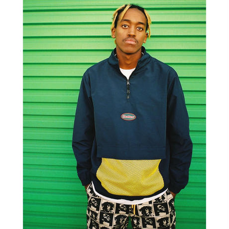 BUTTERGOODS MESH TRACK JACKET (NAVY, BLACK)