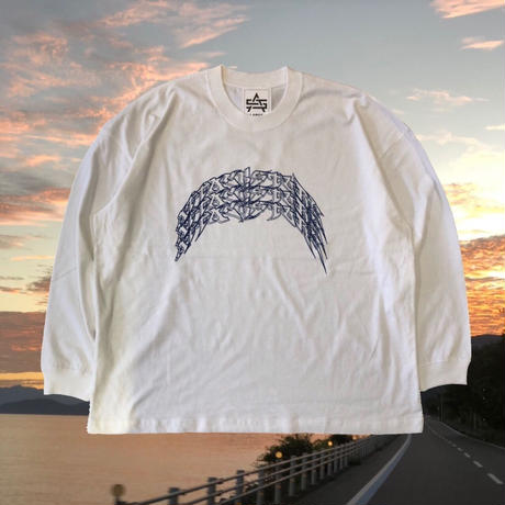 ATTACK ORIGINAL 3-REN ARCH LONG SLEEVE (WHITE, BLACK)
