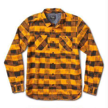 PRIMITIVE BUFFALO IKAT L/S SHIRT (MID NIGHT, SUNSET)
