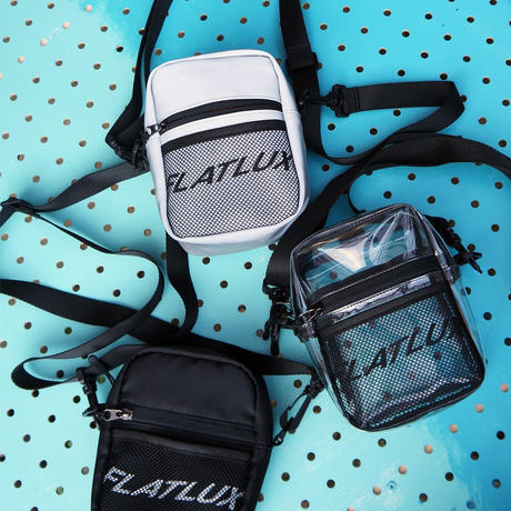 FLATLUX Gone Mini Bag (black, transparent, 3M)