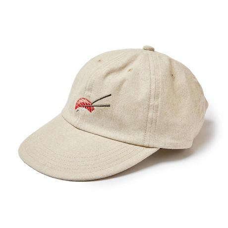 EVISEN  SUSHI LINEN CAP (Beige, Olive, Black, Orange)