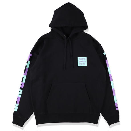 THUMPERS BLOCK HOODIE (WHITE, BLACK)