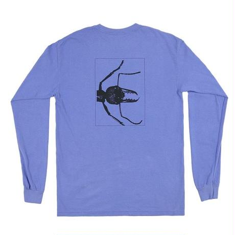 ONLY NY  Pest Control L/S T-Shirt (SANDSTONE, PERIWINLDE)