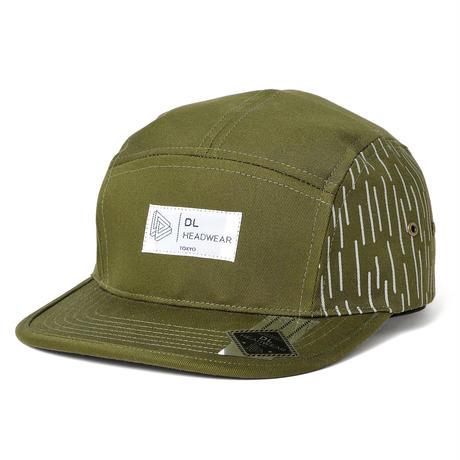 DL Headwear Omega 5Panel Camp Cap (rain olive)