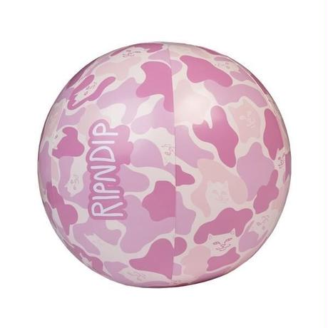 RIPNDIP CAMO BEACH BALL (PINK)