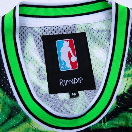 RIPNDIP Neon Nerm Basketball Jersey (Black)