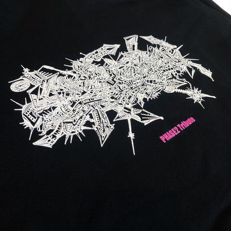 EXPANSION TRIBUTE PHASE2 HOODIE (WHITE, BLACK)