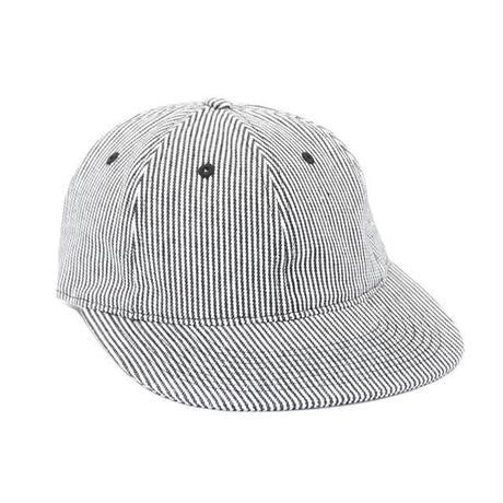 Only NY Hickory Striped Polo Hat (Navy)