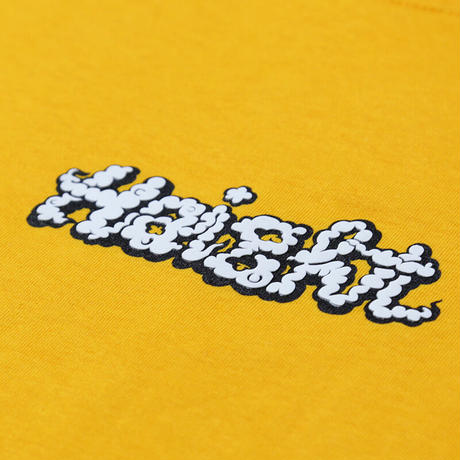 HAIGHT SMOKE LOGO TEE FT RAT HOLE STUDIO (PURPLE, BLACK, WHITE, GOLD)