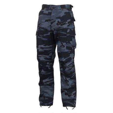 ROTHCO COLOR CAMO TACTICAL BDU PANTS (MID NIGHT BLUE CAMO)