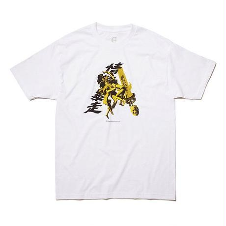 Evisen Skateboardsゑ BURNING DESIRE TEE (WHITE, BLACK)