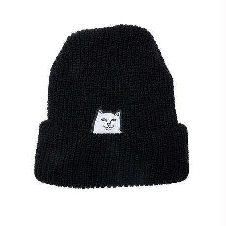 RIPNDIP LORD NERMAL BEANIE (BLACK)