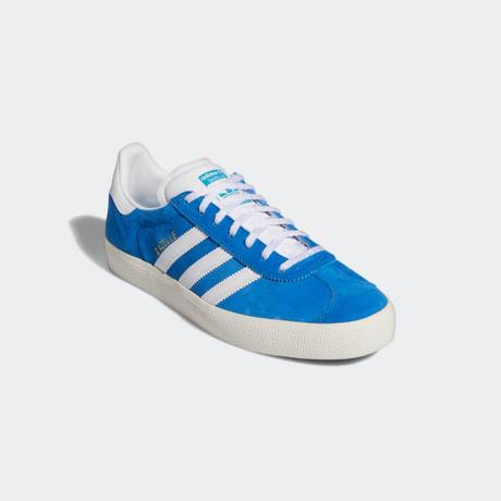 adidas skateboarding GAZELLE ADV (BLUE/WHITE)