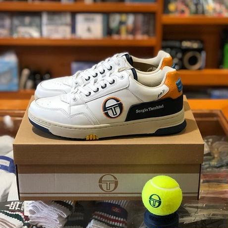 Sergio Tacchini PRIME SHOT REVIEW (WHITE/NAVY/ORANGE)