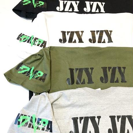 "株式会社クレタ ""JZY JZY"" T (BLACK, WHITE, GREY, OLIVE)"