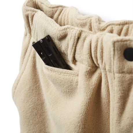 EVISEN STITCH FLEECE PANTS (Charcoal, Beige, Emerald)