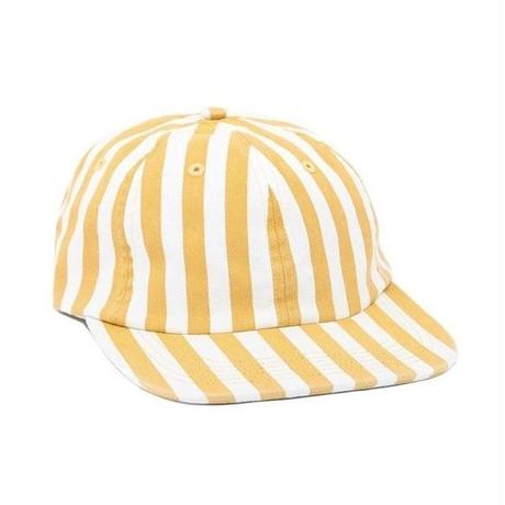 Only NY Nautical Striped Polo Hat (Dandelion)