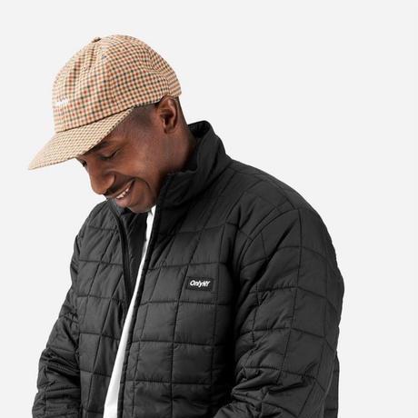 Only NY. Core Logo Polo Hat (Khaki Plaid, Black)