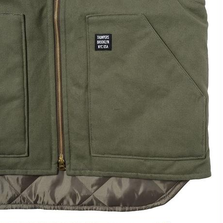 THUMPERS NYC WORK VEST (DEEP GREEN, BLACK)
