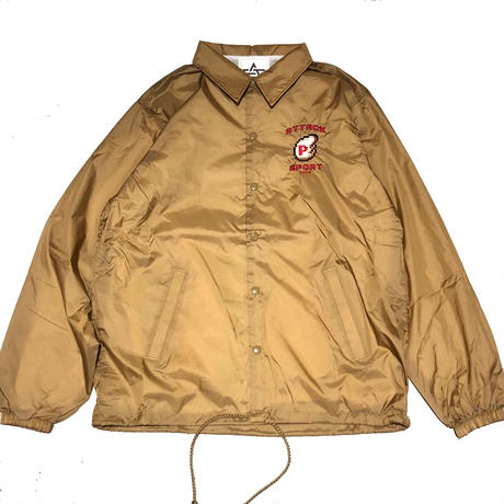 ATTACK ORIGINAL P-WING COACH JACKET (BEIGE)