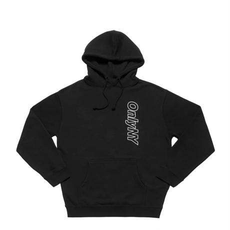 Only NY.   Core Logo Outline Hoodie (Black, Burgundy, Gold)