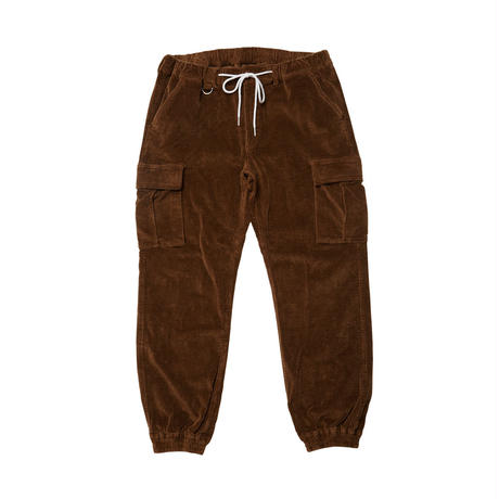 Evisen Skateboardsゑ STRAIGHT OUTTA BED CORD PANTS (BROWN, GREEN)