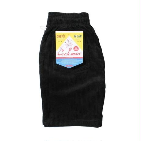 Cookman Chef Short Pants (Corduroy Black)