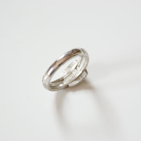 Special price【スペシャル プライス】AVONエイボン ベルト シルバー 指輪リング / ヴィンテージ・コスチュームジュエリー