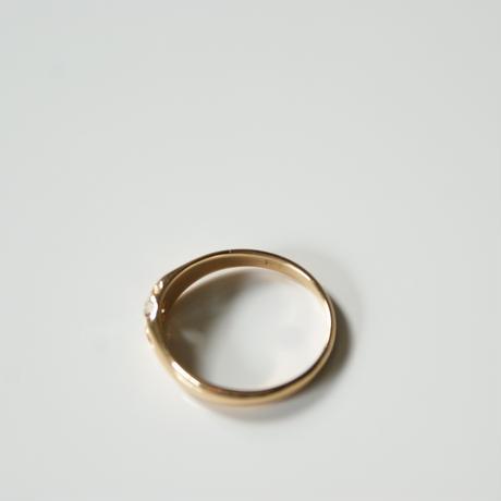 K18YG  ダイヤモンド リング指輪 / ヴィンテージジュエリー・アクセサリー