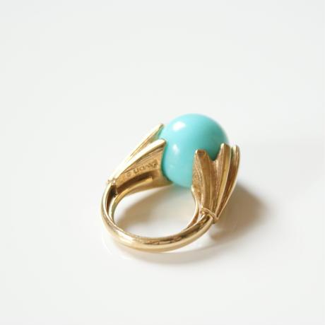 Special price【スペシャル プライス】AVONエイボン  ターコイズブルー 指輪リング / ヴィンテージ・コスチュームジュエリー