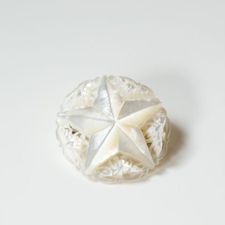 ベツレヘムパール  シェル マザーオブパール  星スター ブローチ / ヴィンテージ・アンティークジュエリー