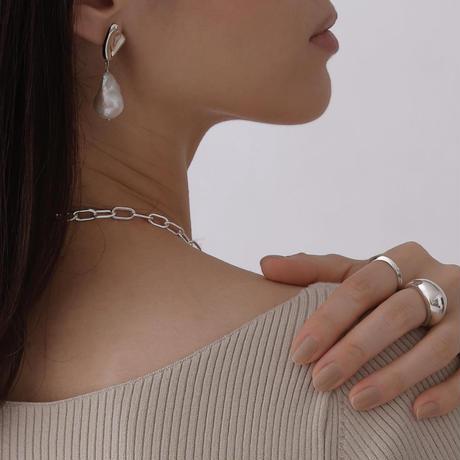 Flo baroque pierce (silver)