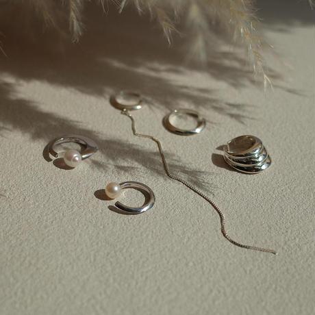 Theo pearl cuff