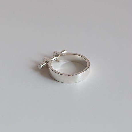 Ten II ring (silver)