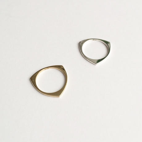 Three ring in silver