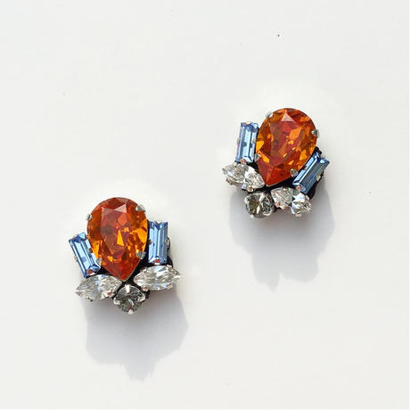 Bijoux earring in orange