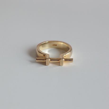 Ten II ring (gold)
