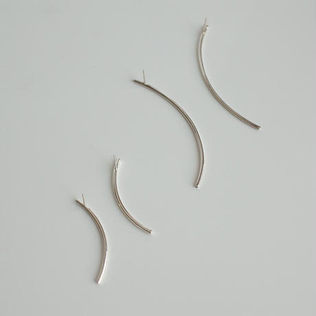Rae pierce long (silver)