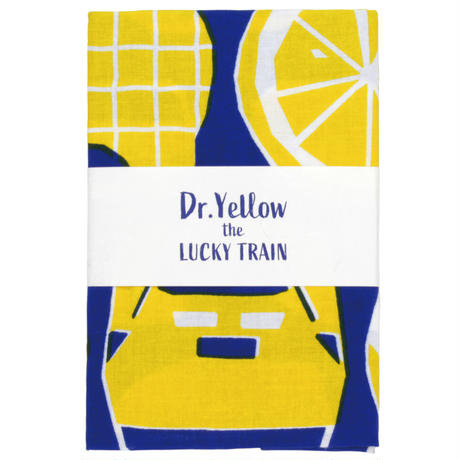 Dr.Yellow the LUCKY TRAIN てぬぐい