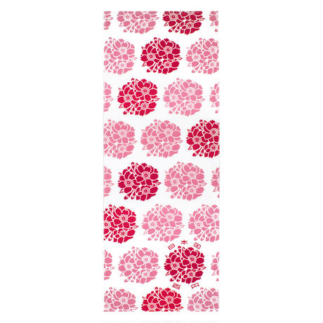 手ぬぐい 桜花(100円白銅貨幣)