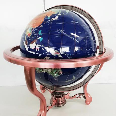 地球儀 ブルー