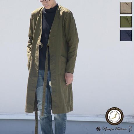 [AUD2737]コーマウェザーキモノガウンコート【MADE IN JAPAN】『日本製』