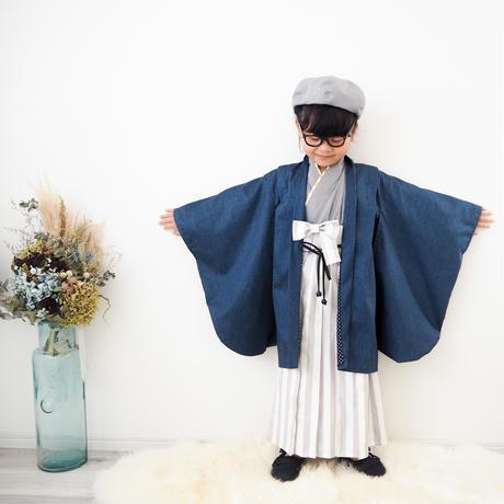 【130】2step hakama(star