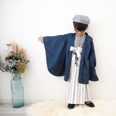 【90-100】2step hakama(star)