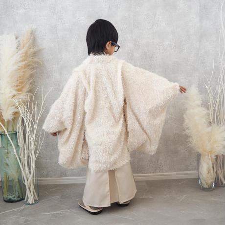 【レンタル】2 ステップ袴(5歳用ホワイト)