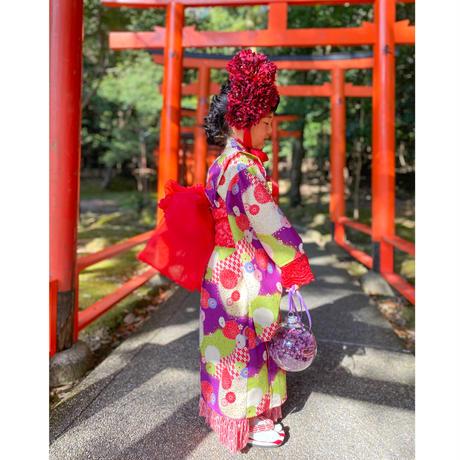 【レンタル】ヘッドドレス(レッドダリア)