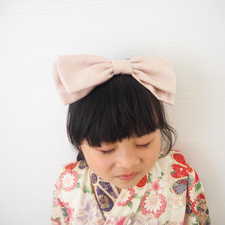 pink ribbon hairband