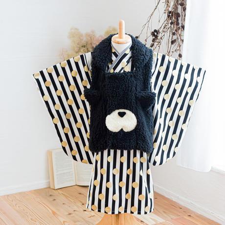【90-100】cat's 2step kimono