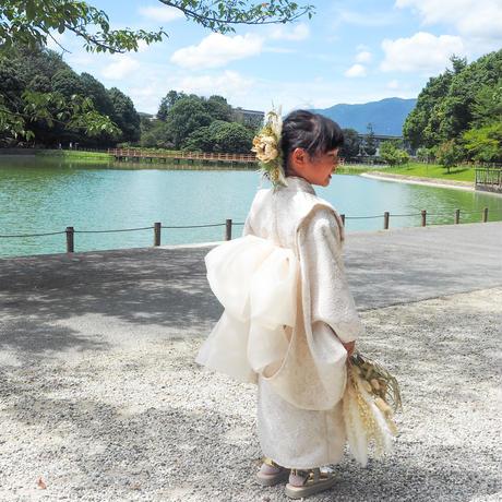 【130】2step kimono(shiromuku)