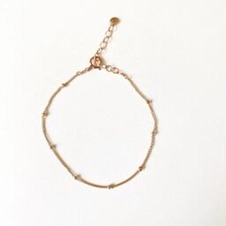 Single CAROLINE Bracelet (Rose gold filled)